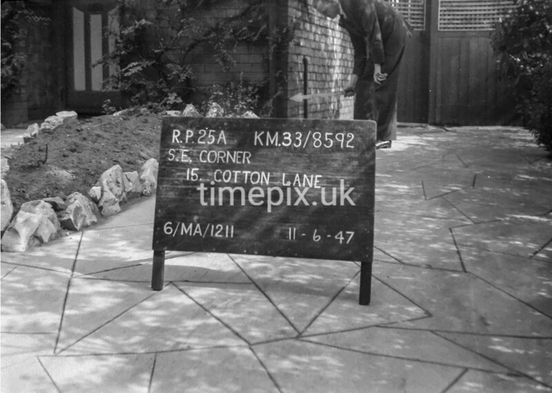 SJ859225A, Ordnance Survey Revision Point photograph in Greater Manchester