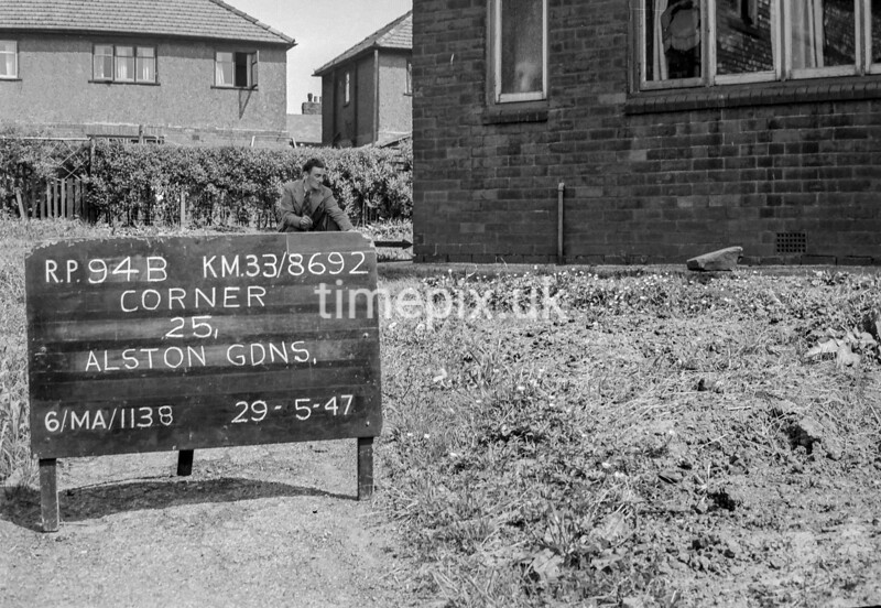 SJ869294B, Ordnance Survey Revision Point photograph in Greater Manchester