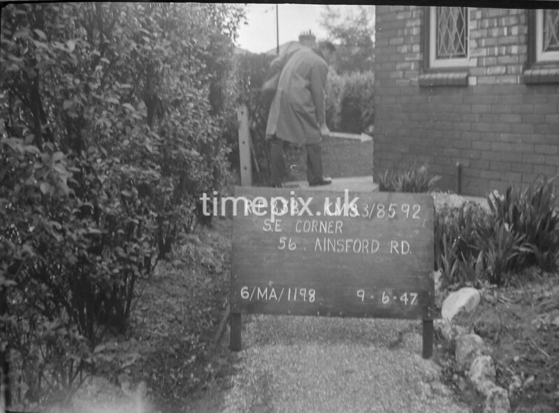 SJ859283B, Ordnance Survey Revision Point photograph in Greater Manchester