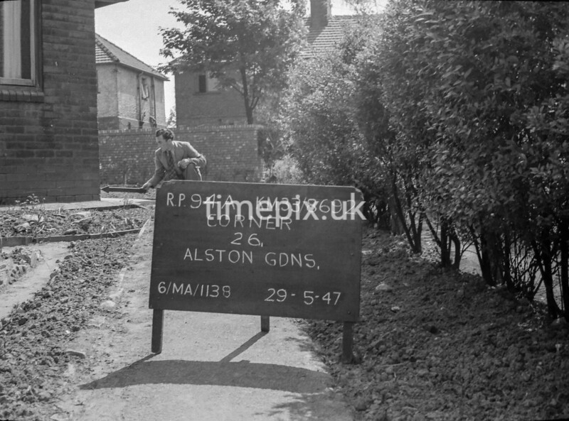 SJ869294A, Ordnance Survey Revision Point photograph in Greater Manchester