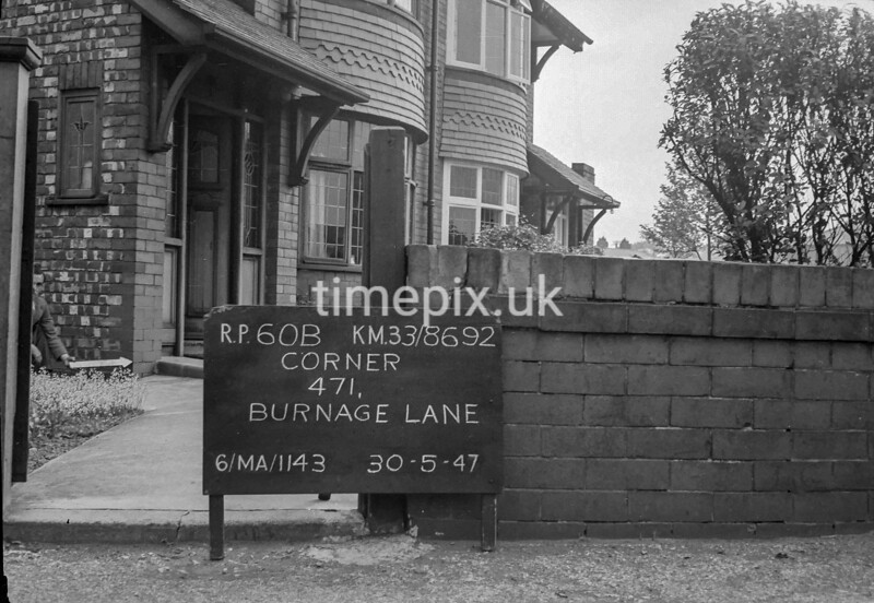 SJ869260B, Ordnance Survey Revision Point photograph in Greater Manchester