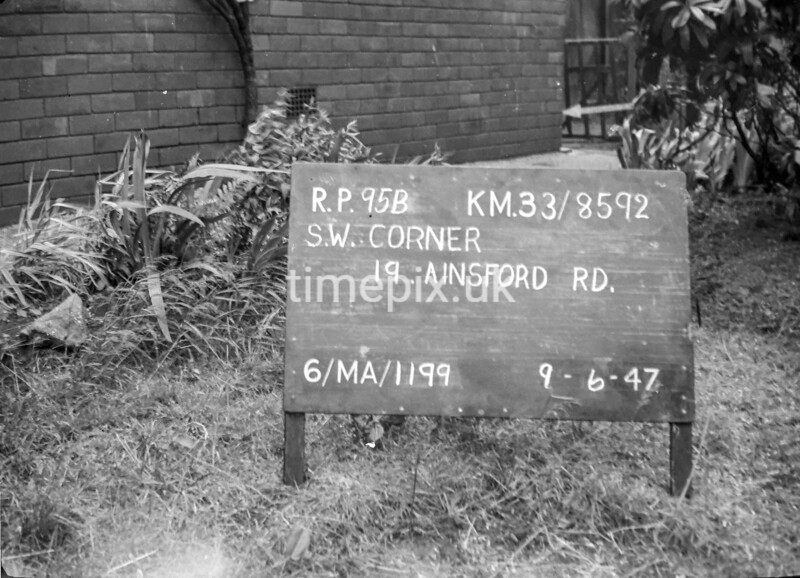 SJ859295B, Ordnance Survey Revision Point photograph in Greater Manchester