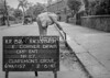 SJ849132A, Ordnance Survey Revision Point photograph in Greater Manchester