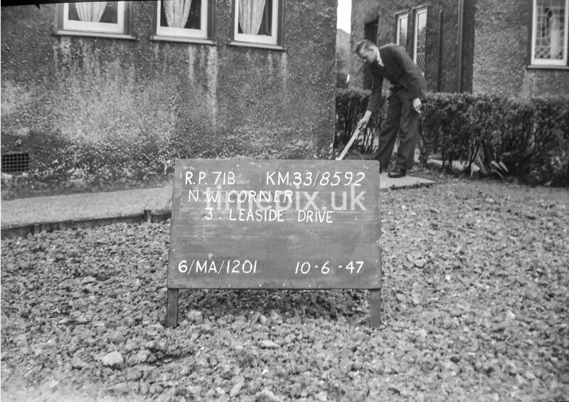 SJ859271B, Ordnance Survey Revision Point photograph in Greater Manchester