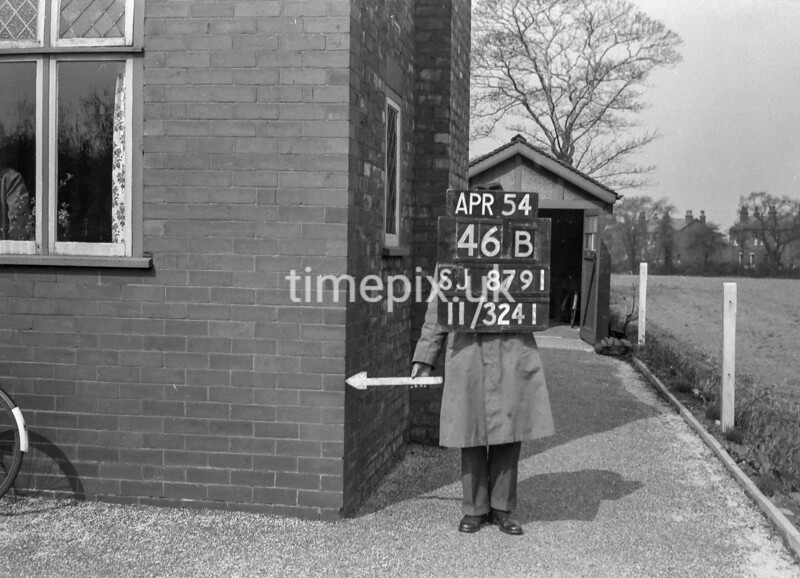 SJ879146B, Ordnance Survey Revision Point photograph in Greater Manchester