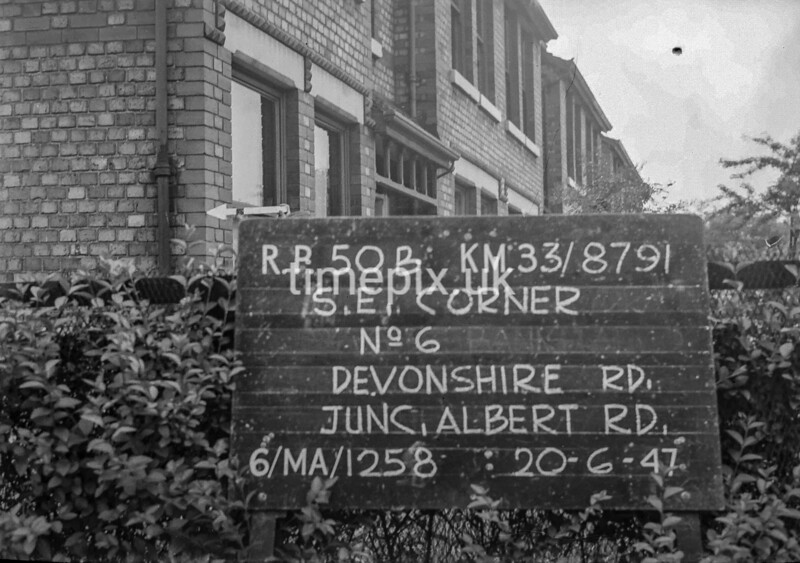 SJ879150B, Ordnance Survey Revision Point photograph in Greater Manchester