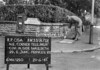 SJ879105A, Ordnance Survey Revision Point photograph in Greater Manchester