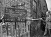 SJ869196B, Ordnance Survey Revision Point photograph in Greater Manchester