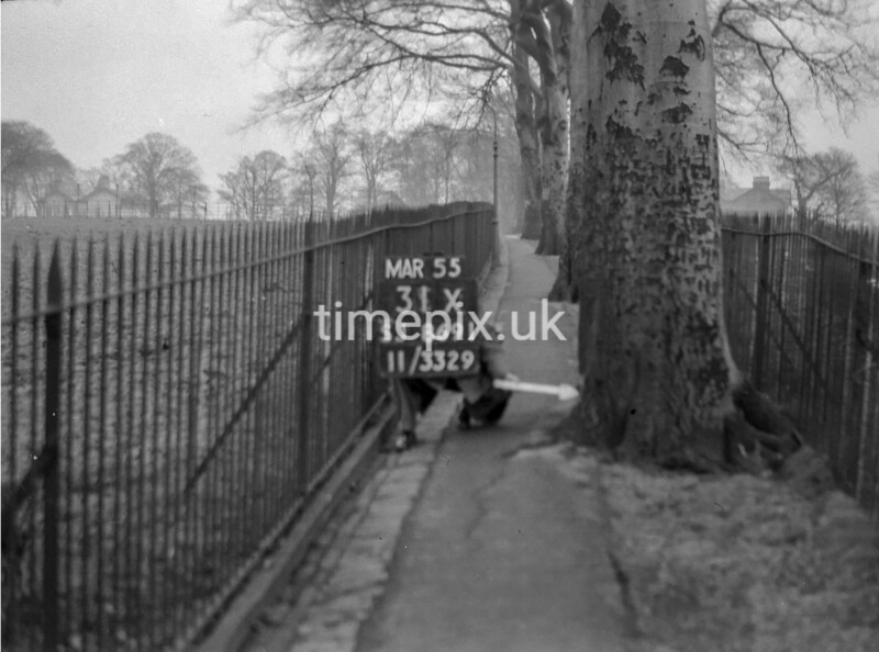 SJ869131X, Ordnance Survey Revision Point photograph in Greater Manchester