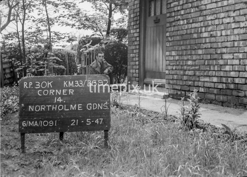 SJ869230K, Ordnance Survey Revision Point photograph in Greater Manchester