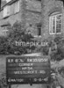 SJ859189L, Ordnance Survey Revision Point photograph in Greater Manchester