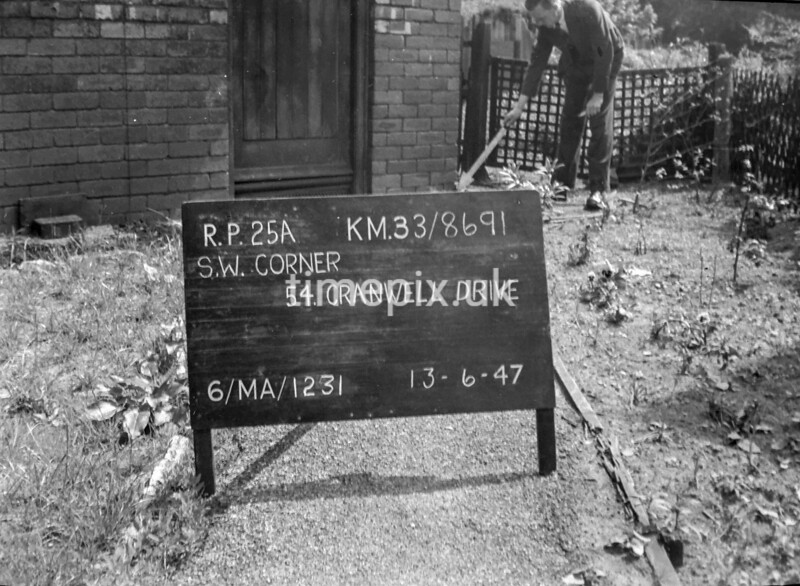 SJ869125A, Ordnance Survey Revision Point photograph in Greater Manchester