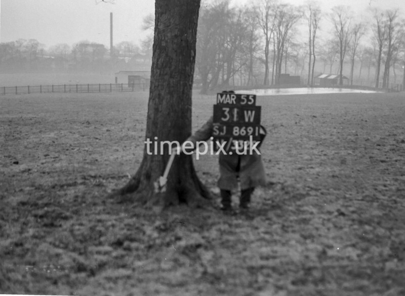 SJ869131W, Ordnance Survey Revision Point photograph in Greater Manchester