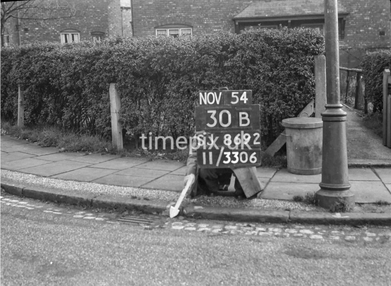 SJ869230B2, Ordnance Survey Revision Point photograph in Greater Manchester