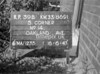 SJ869139B, Ordnance Survey Revision Point photograph in Greater Manchester