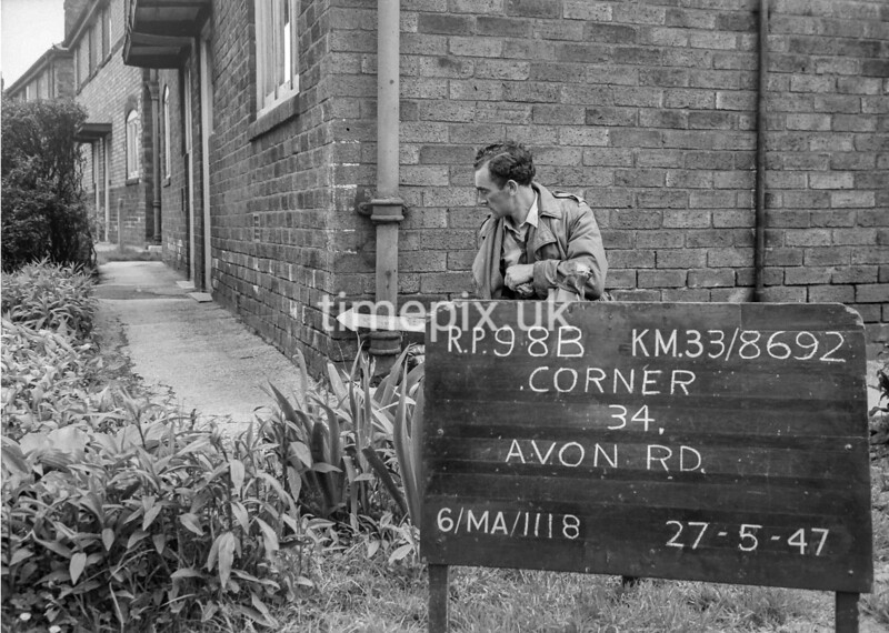 SJ869298B, Ordnance Survey Revision Point photograph in Greater Manchester