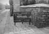 SJ849205C, Ordnance Survey Revision Point photograph in Greater Manchester