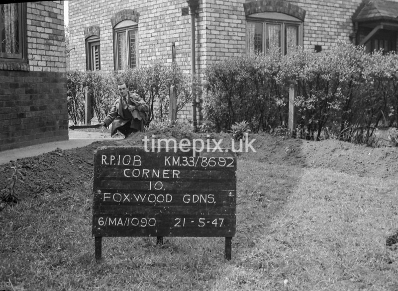 SJ869210B, Ordnance Survey Revision Point photograph in Greater Manchester
