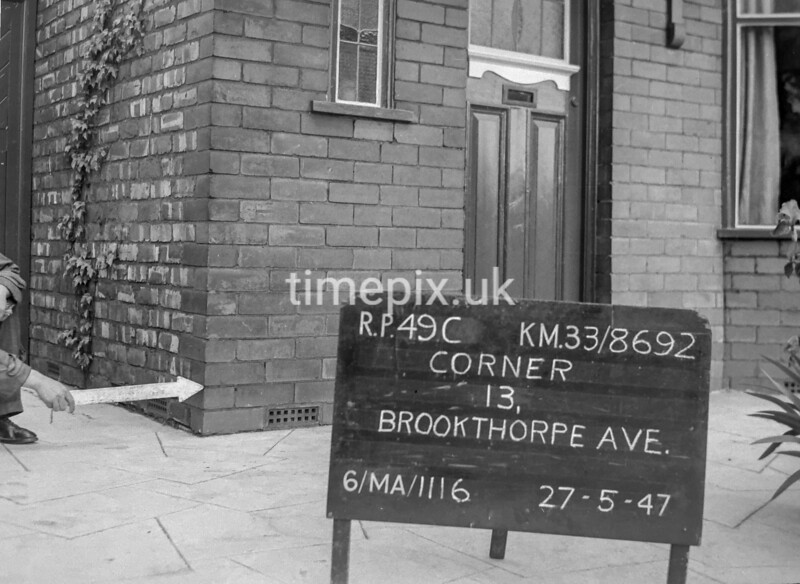 SJ869249C, Ordnance Survey Revision Point photograph in Greater Manchester