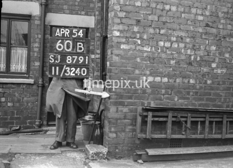 SJ879160B, Ordnance Survey Revision Point photograph in Greater Manchester