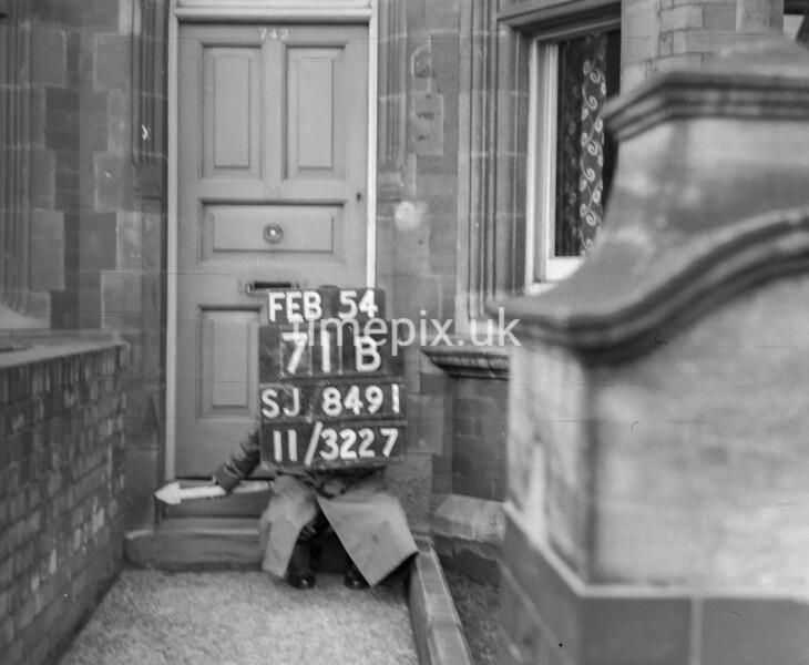 SJ849171B2, Ordnance Survey Revision Point photograph in Greater Manchester