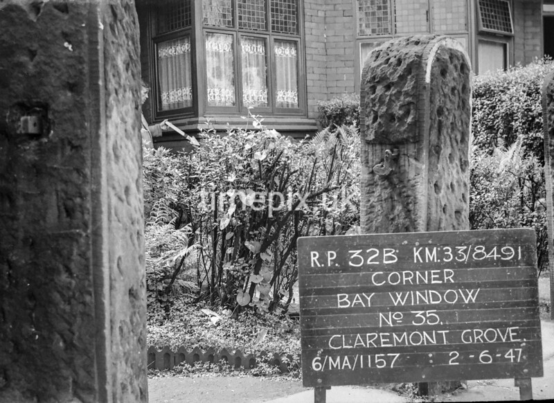 SJ849132B, Ordnance Survey Revision Point photograph in Greater Manchester