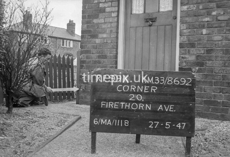 SJ869299K, Ordnance Survey Revision Point photograph in Greater Manchester