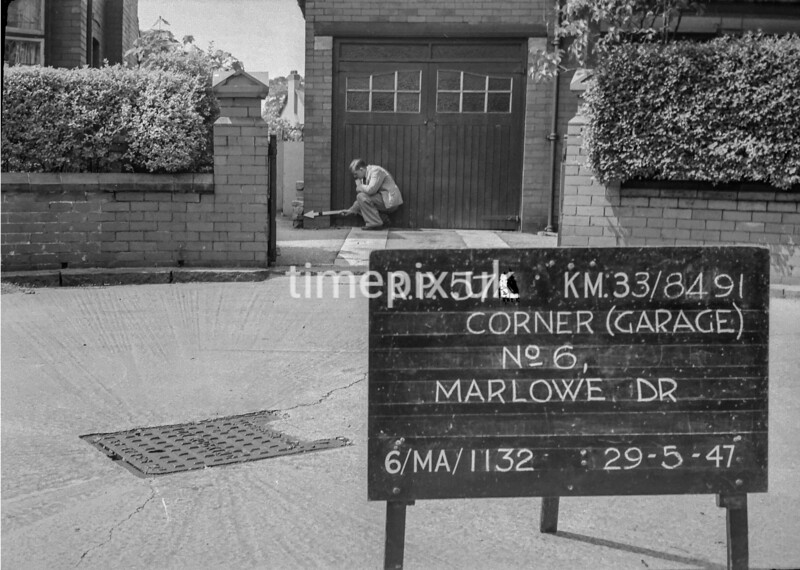 SJ849157L, Ordnance Survey Revision Point photograph in Greater Manchester
