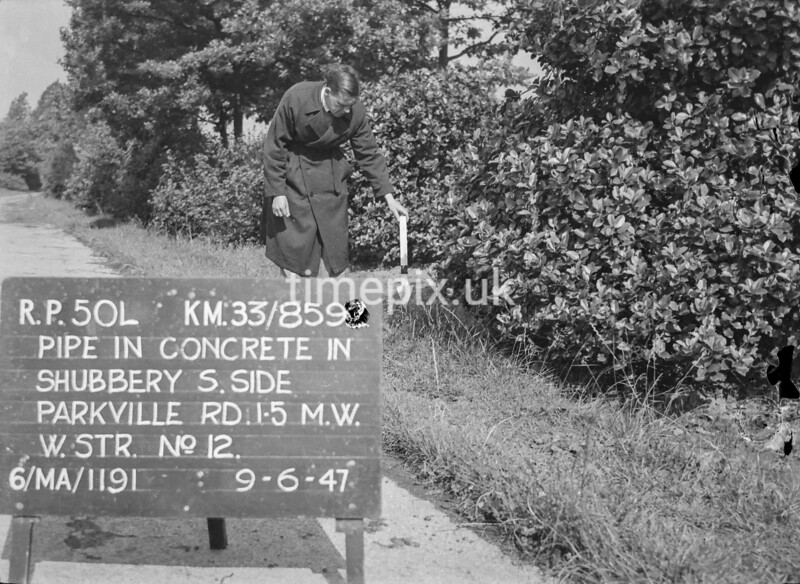 SJ859250L, Ordnance Survey Revision Point photograph in Greater Manchester