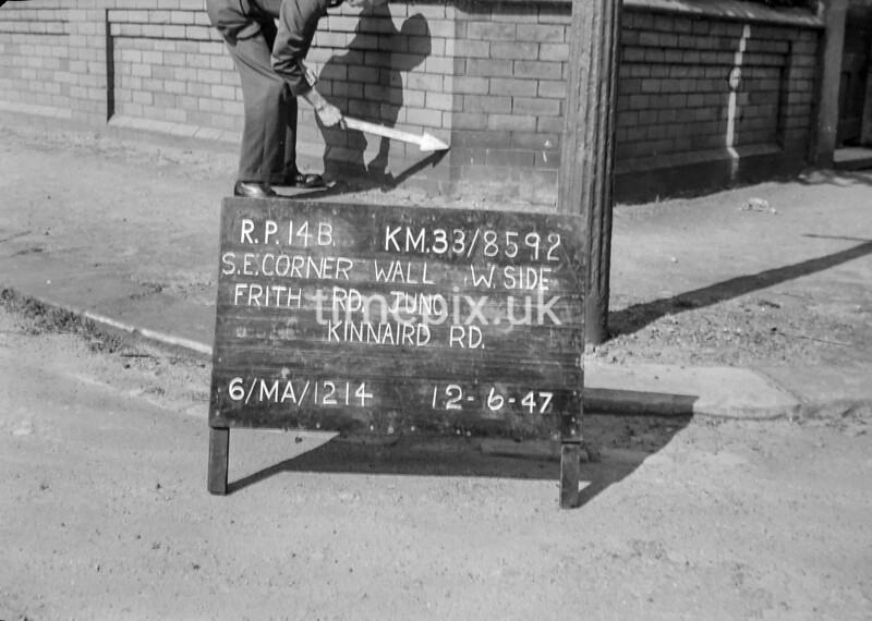 SJ859214B, Ordnance Survey Revision Point photograph in Greater Manchester