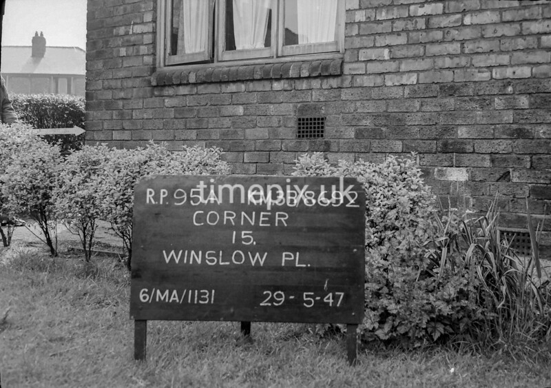 SJ869295A, Ordnance Survey Revision Point photograph in Greater Manchester