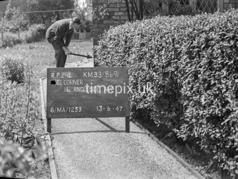 SJ869129L, Ordnance Survey Revision Point photograph in Greater Manchester