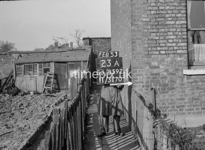 SJ859223A, Ordnance Survey Revision Point photograph in Greater Manchester