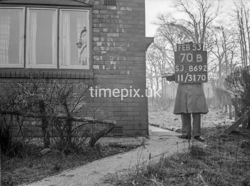 SJ869270B, Ordnance Survey Revision Point photograph in Greater Manchester
