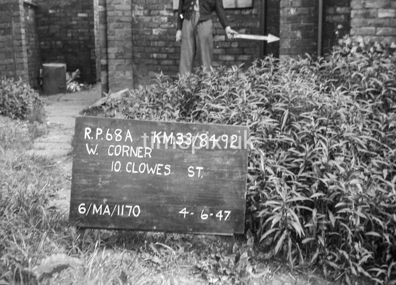 SJ849268A, Ordnance Survey Revision Point photograph in Greater Manchester
