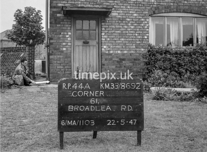 SJ869244A, Ordnance Survey Revision Point photograph in Greater Manchester