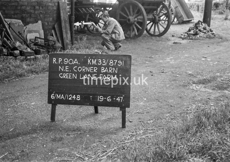 SJ879190A, Ordnance Survey Revision Point photograph in Greater Manchester