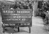 SJ859123B, Ordnance Survey Revision Point photograph in Greater Manchester