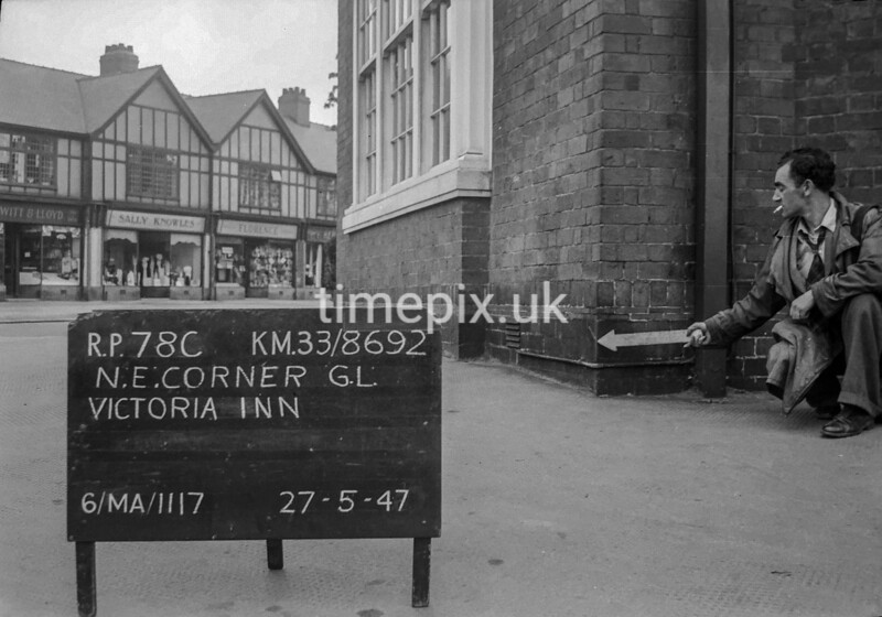 SJ869278C, Ordnance Survey Revision Point photograph in Greater Manchester