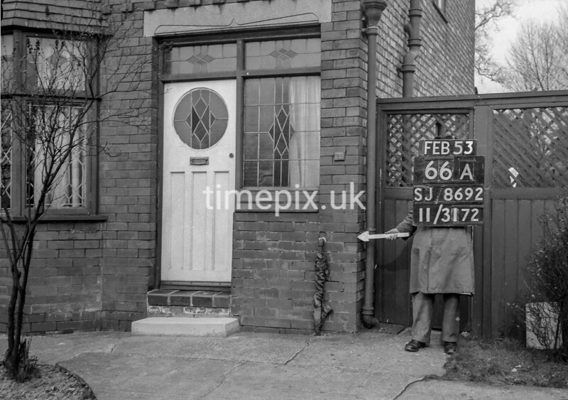 SJ869266A, Ordnance Survey Revision Point photograph in Greater Manchester