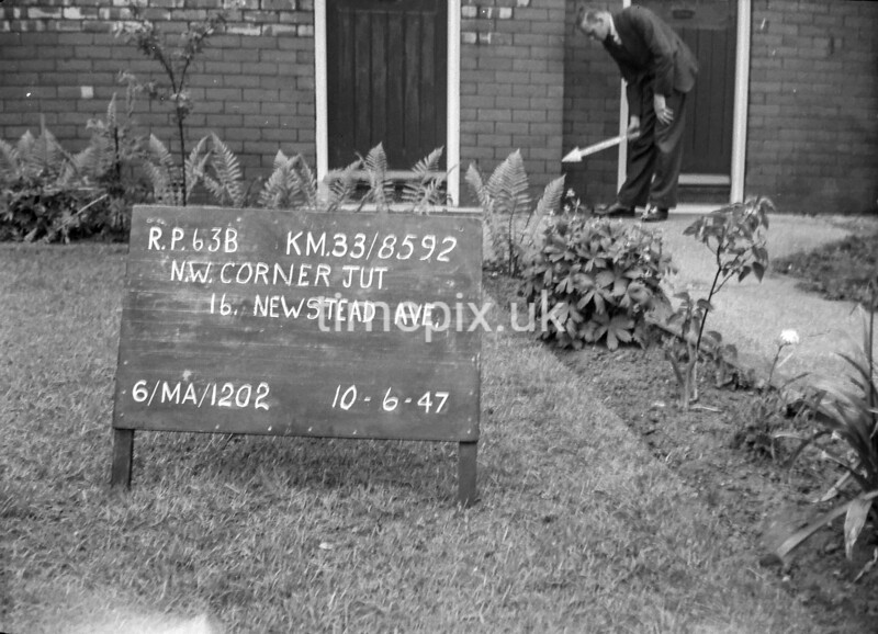 SJ859263B, Ordnance Survey Revision Point photograph in Greater Manchester