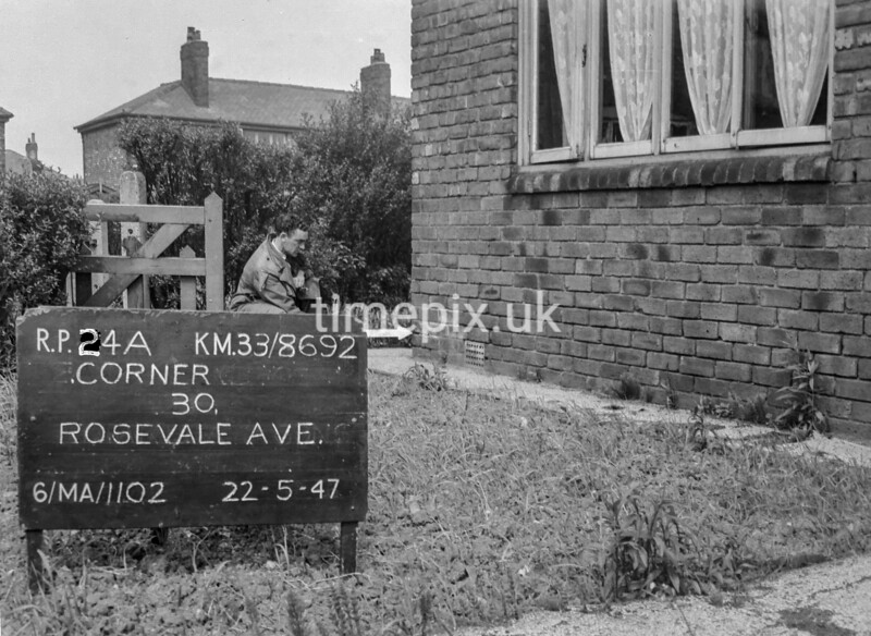SJ869224A, Ordnance Survey Revision Point photograph in Greater Manchester
