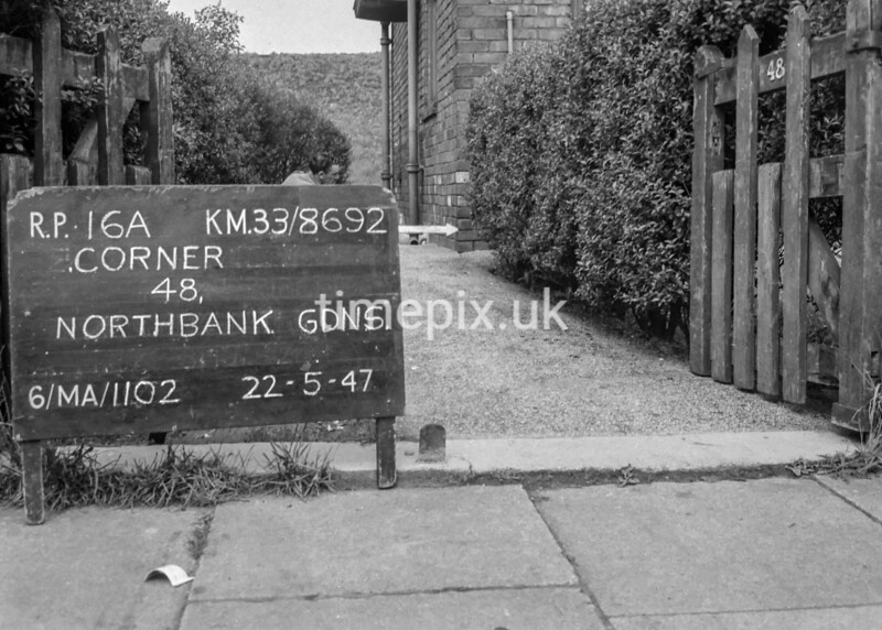 SJ869216A, Ordnance Survey Revision Point photograph in Greater Manchester