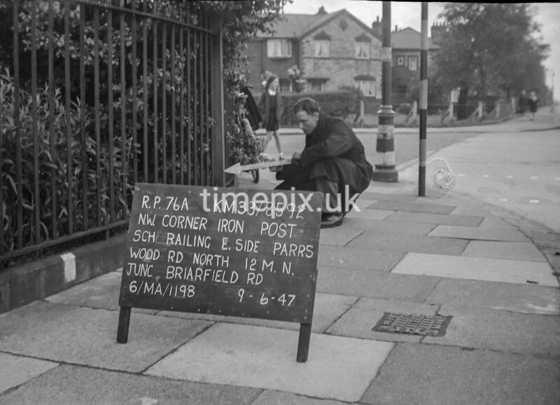 SJ859276A, Ordnance Survey Revision Point photograph in Greater Manchester