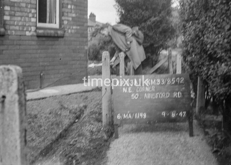 SJ859283A, Ordnance Survey Revision Point photograph in Greater Manchester