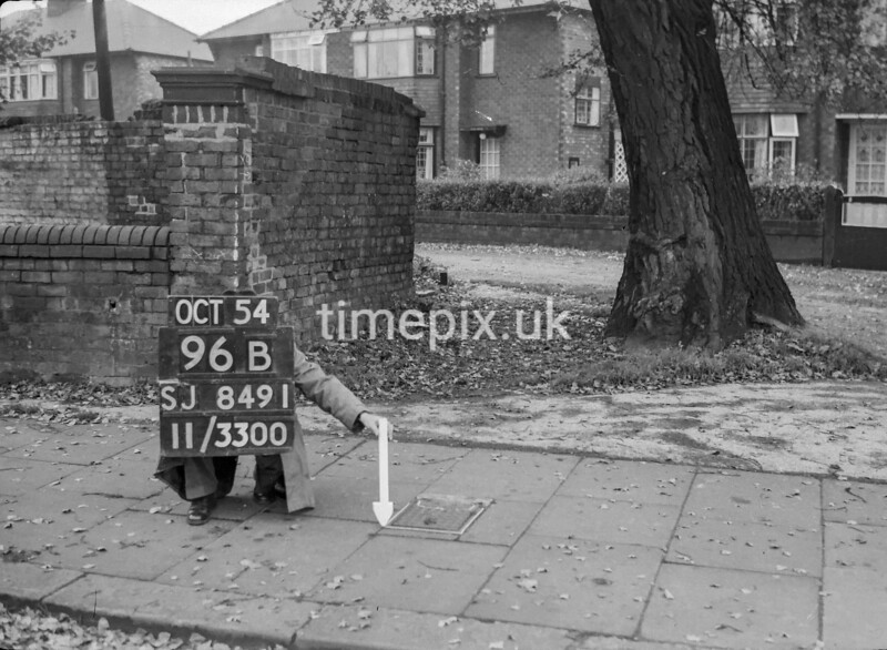 SJ849196B2, Ordnance Survey Revision Point photograph in Greater Manchester