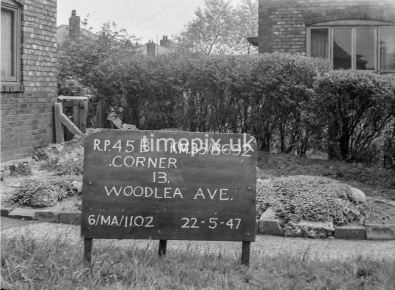 SJ869245B, Ordnance Survey Revision Point photograph in Greater Manchester