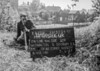 SJ849223B, Ordnance Survey Revision Point photograph in Greater Manchester