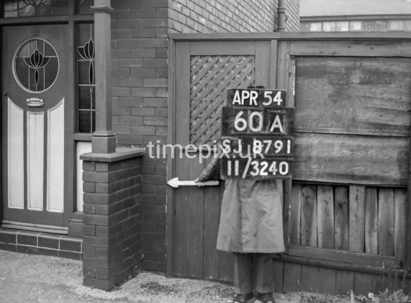 SJ879160A, Ordnance Survey Revision Point photograph in Greater Manchester