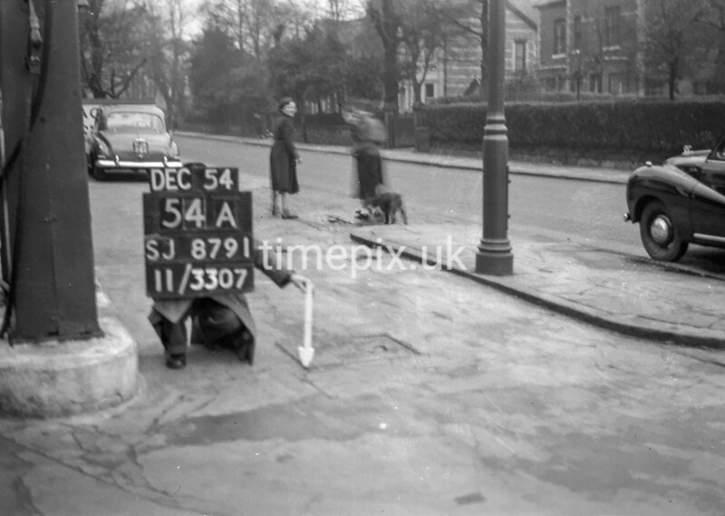 SJ879154A2, Ordnance Survey Revision Point photograph in Greater Manchester